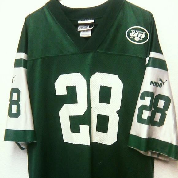 sale retailer ab449 81956 NFL New York Jets Men's Large Jersey Curtis Martin